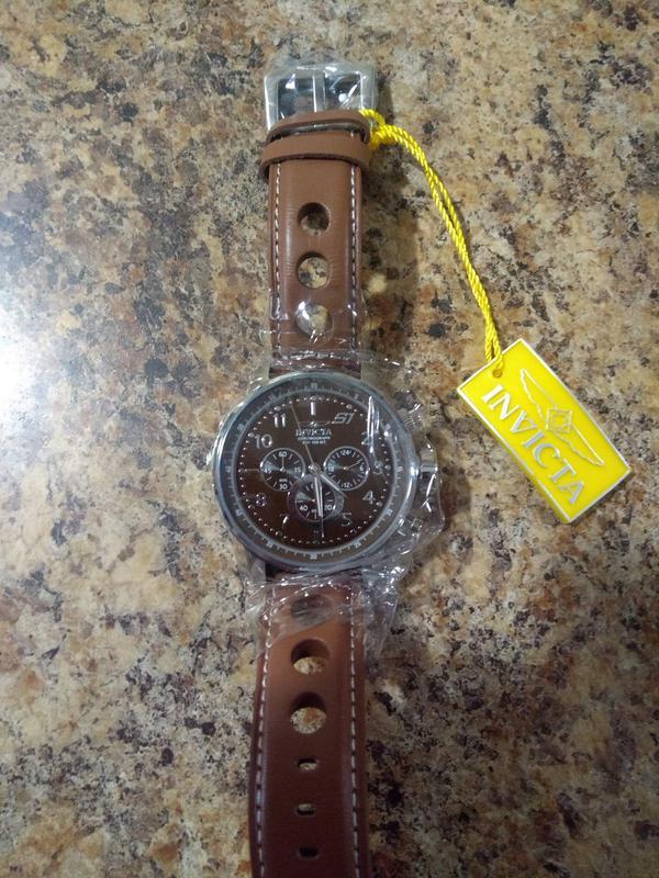 Продам часы Invicta S1 Rally Men'S 48Mm Leather Watch Brown - Фото 3