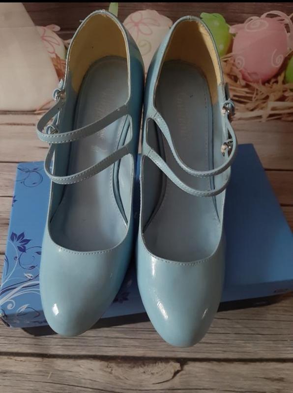 Новые лаковые туфли лодочки - Фото 3