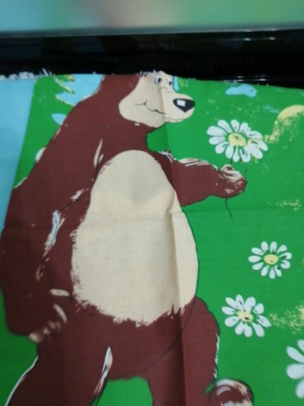 Комплект постельного белья белья детский, кровать малютка - Фото 3