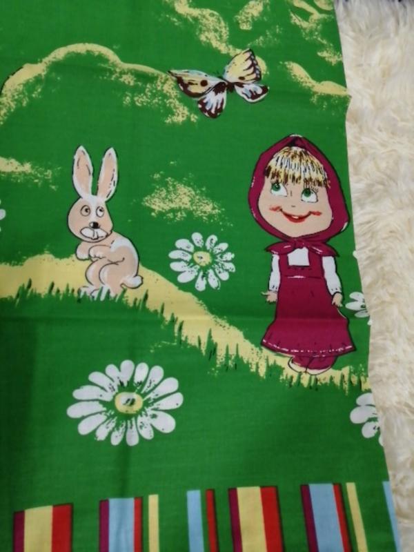 Комплект постельного белья белья детский, кровать малютка - Фото 4