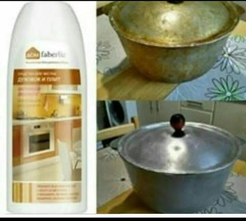 Концентрированное средство для чистки плит и духовки