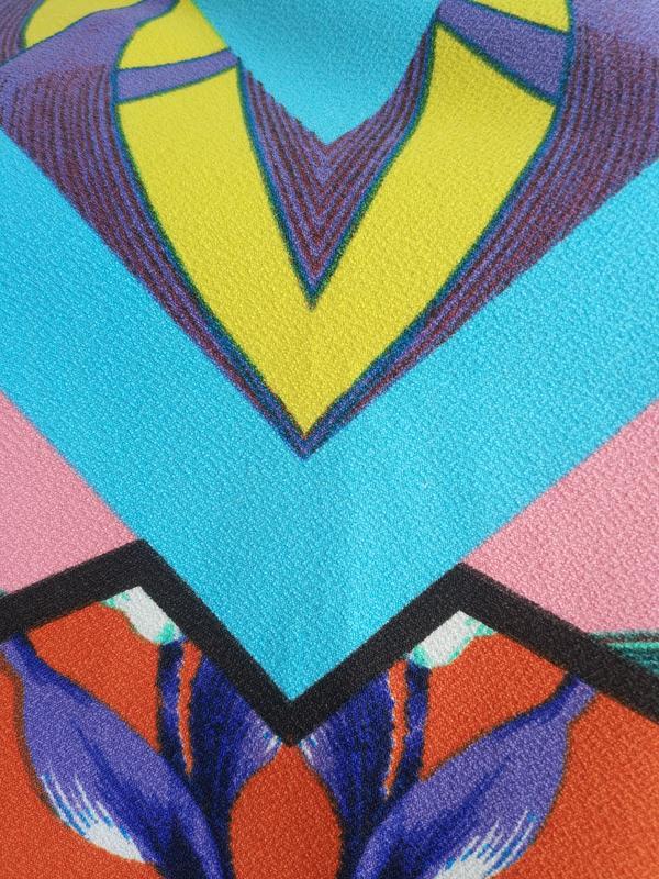 Стильная  блуза, топ  asos с ярким принтом - Фото 7