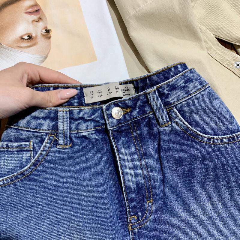 Юбка джинсовая трапецией denim&co - Фото 2