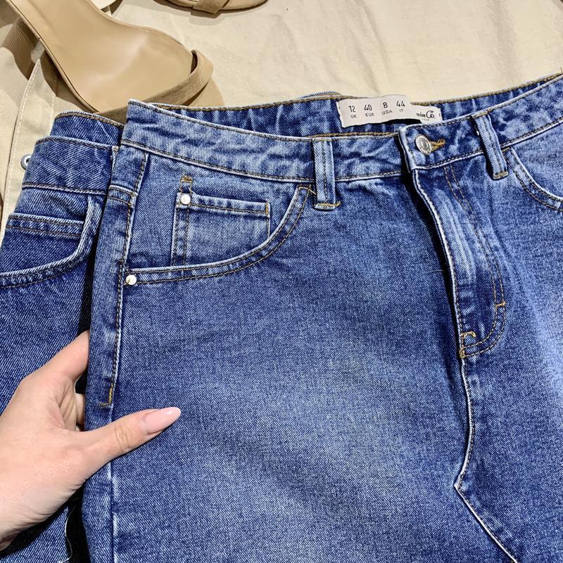 Юбка джинсовая трапецией denim&co - Фото 3