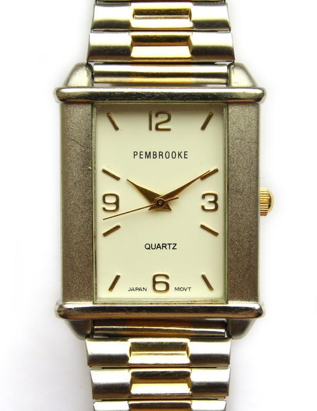 Pembrooke мужские часы из сша стальной браслет мех. japan miyota - Фото 2