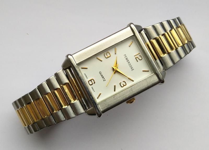 Pembrooke мужские часы из сша стальной браслет мех. japan miyota - Фото 3