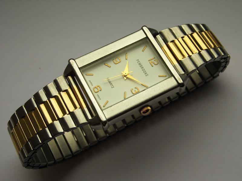 Pembrooke мужские часы из сша стальной браслет мех. japan miyota - Фото 4