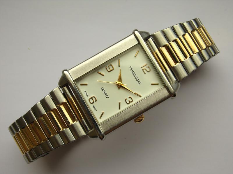 Pembrooke мужские часы из сша стальной браслет мех. japan miyota - Фото 5