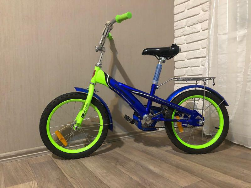 Велосипед детский 4-7лет есть боковые колеса - Фото 2