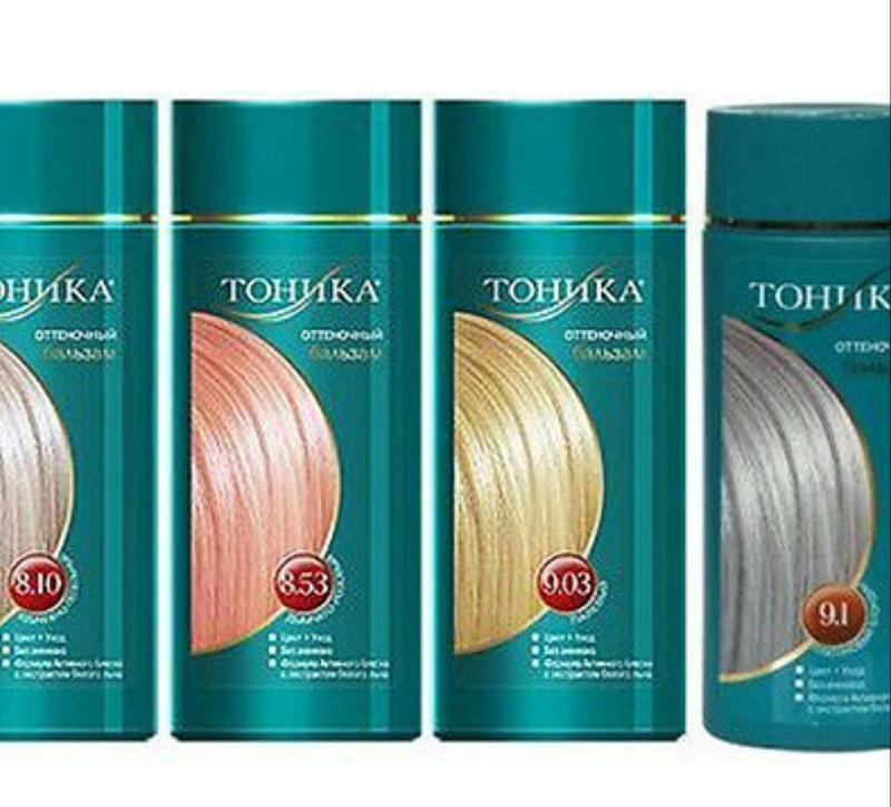 Тоника для волос. тон 8.53 -50 грн, остальные 75
