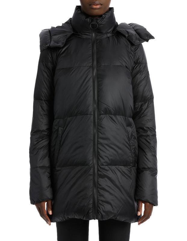 Новый пуховик одеяло dkny (парка, куртка) 90% пух оригинал тра... - Фото 5