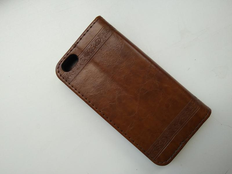 Чехол-книжка для apple iphone эпл айфон 5/5s кожа - Фото 3