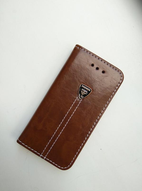 Чехол-книжка для apple iphone эпл айфон 5/5s кожа