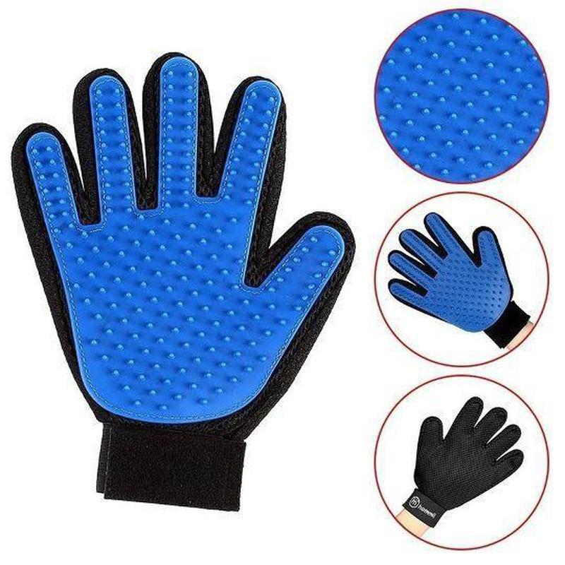 Перчатка для вычесывания шерсти True Touch, Тру Тач, Pet Glove - Фото 3