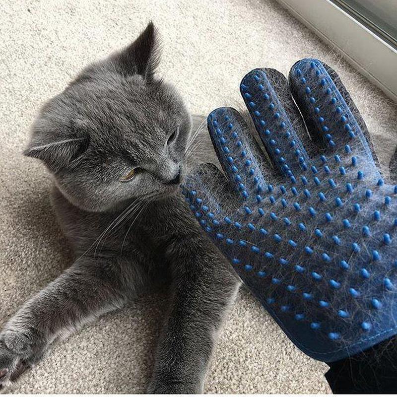 Перчатка для вычесывания шерсти True Touch, Тру Тач, Pet Glove - Фото 8