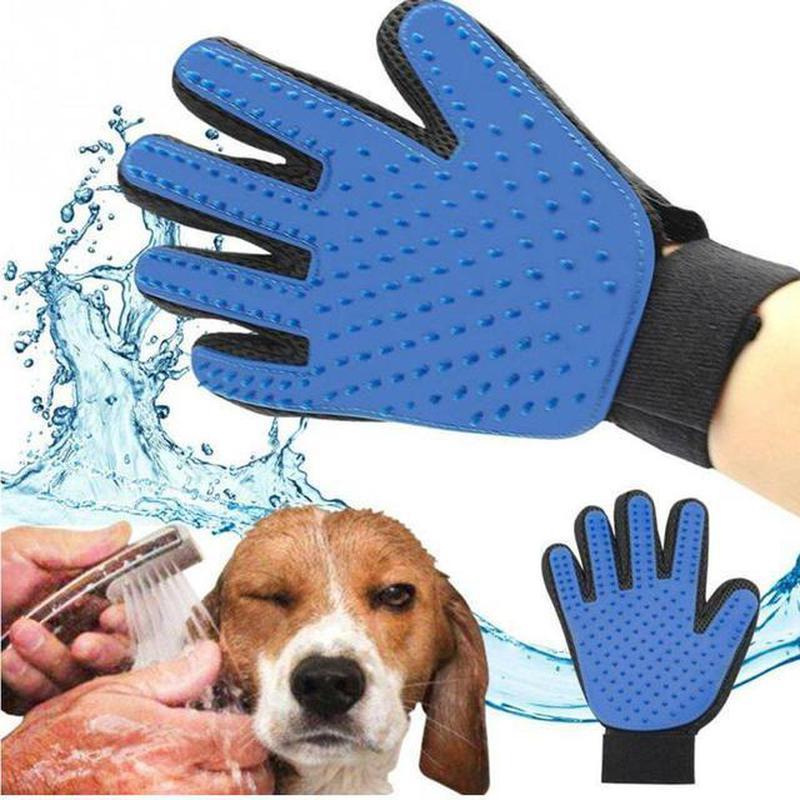 Перчатка для вычесывания шерсти True Touch, Тру Тач, Pet Glove - Фото 9