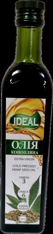 Конопляное масло 500мл