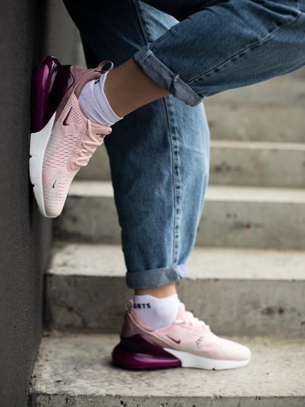 Кроссовки nike 270 pink - Фото 3