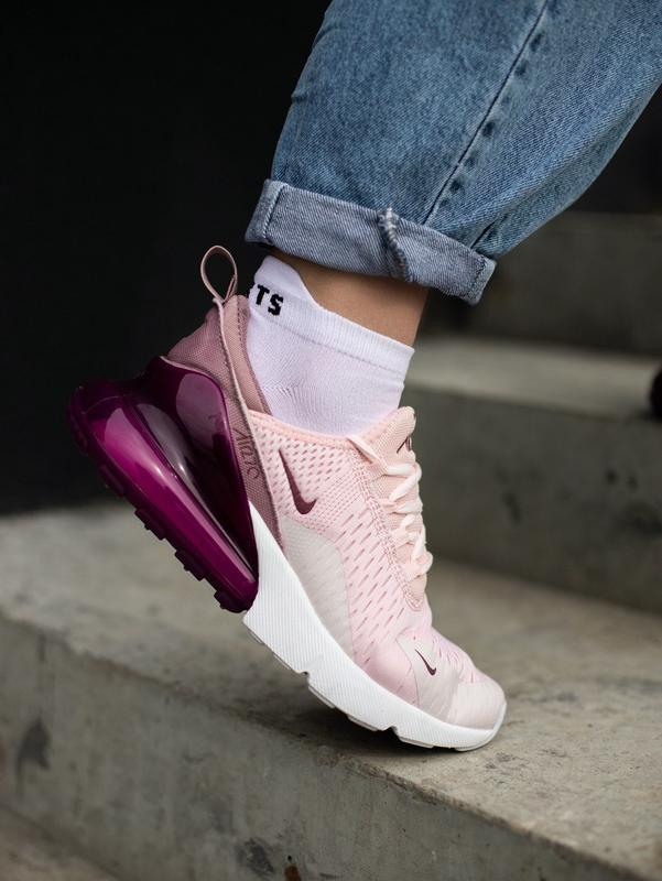Кроссовки nike 270 pink - Фото 4