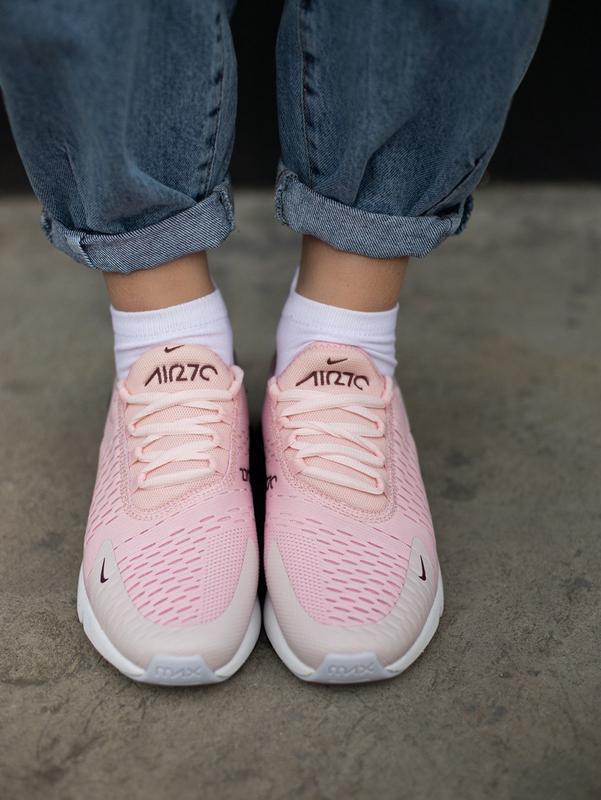 Кроссовки nike 270 pink - Фото 6
