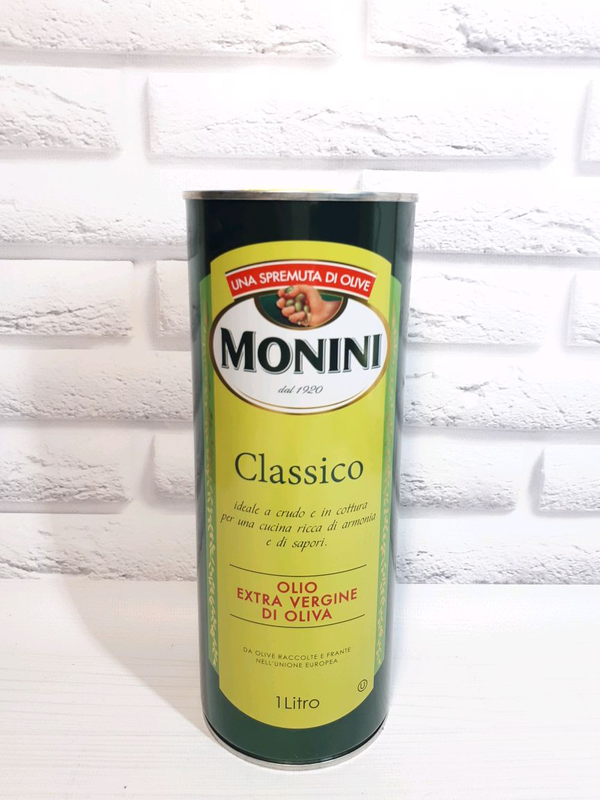 Оливковое масло MONINI Classico Olio Extra Vergine Di Oliva, 1 л
