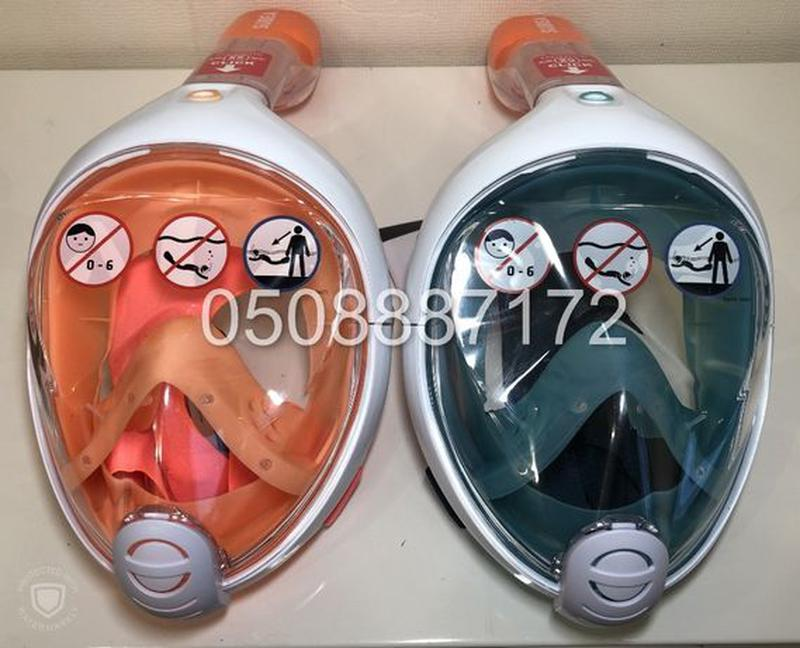 Новая оригинальная ДЕТСКАЯ маска для снорклинга SUBEA Easybrea... - Фото 2