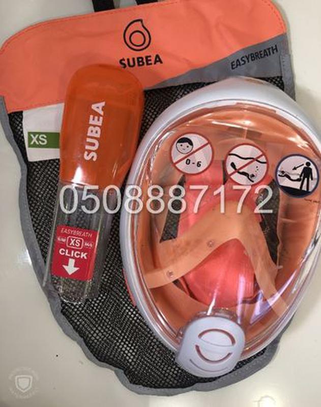 Новая оригинальная ДЕТСКАЯ маска для снорклинга SUBEA Easybrea... - Фото 3