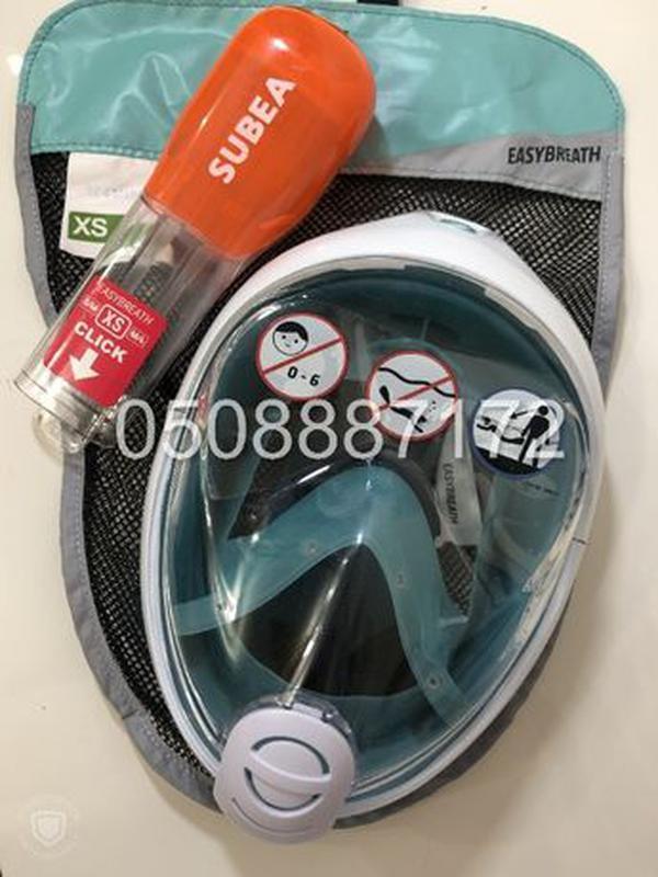 Новая оригинальная ДЕТСКАЯ маска для снорклинга SUBEA Easybrea... - Фото 4