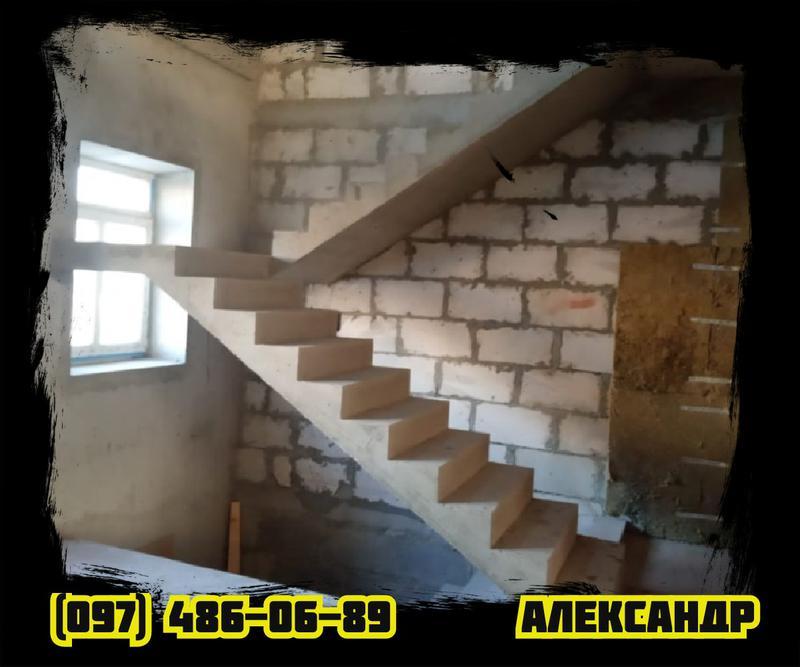 БЕТОННАЯ ЛЕСТНИЦА под Ключ • МОНОЛИТНАЯ железобетонная Лестница• - Фото 2