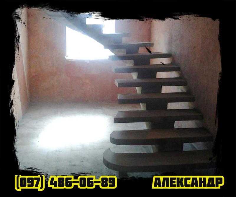 БЕТОННАЯ ЛЕСТНИЦА под Ключ • МОНОЛИТНАЯ железобетонная Лестница• - Фото 8
