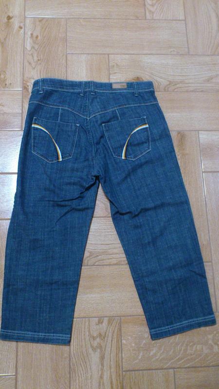 Джинсовые бриджи мужские tamnoon джинсові бриджи чоловічі - Фото 2