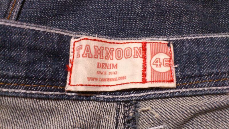 Джинсовые бриджи мужские tamnoon джинсові бриджи чоловічі - Фото 3