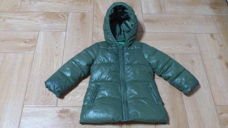 Курточка куртка united colors of benetton для девочки 2 годика...