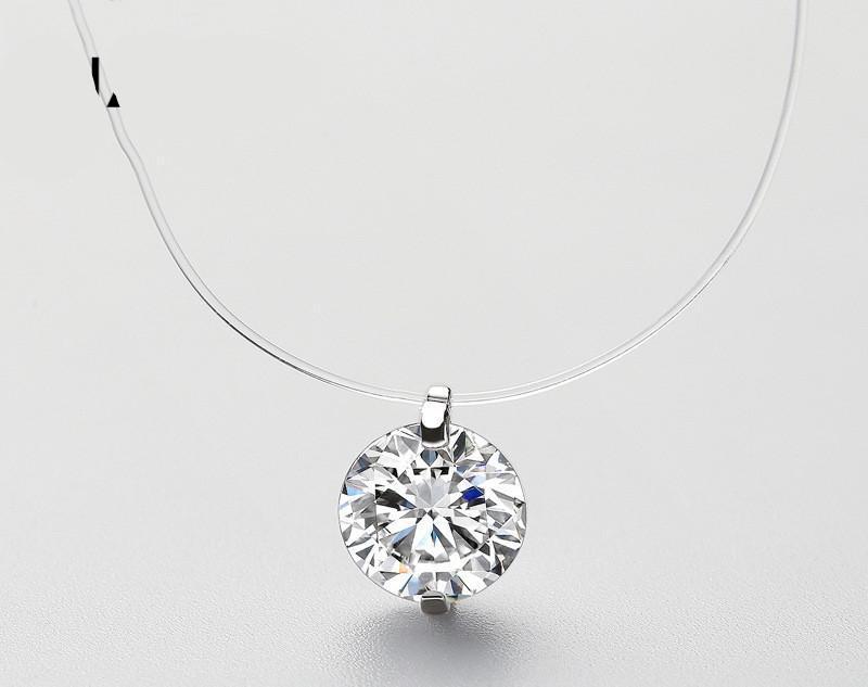 Ожерелье с подвеской из чистого стерлингового серебра - Фото 2