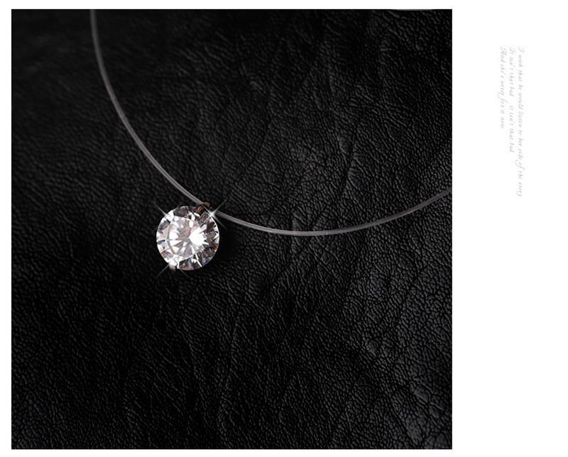 Ожерелье с подвеской из чистого стерлингового серебра - Фото 4