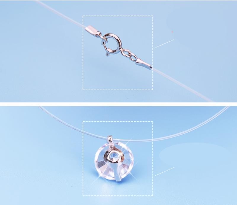 Ожерелье с подвеской из чистого стерлингового серебра - Фото 6