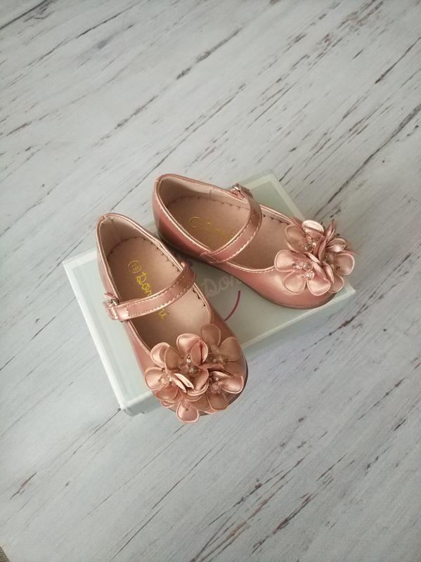 Туфли для девочек clibee румыния - Фото 2