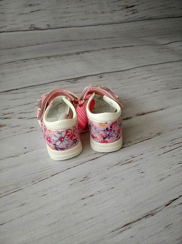 Кожаные босоножки для девочек tom.m - Фото 2