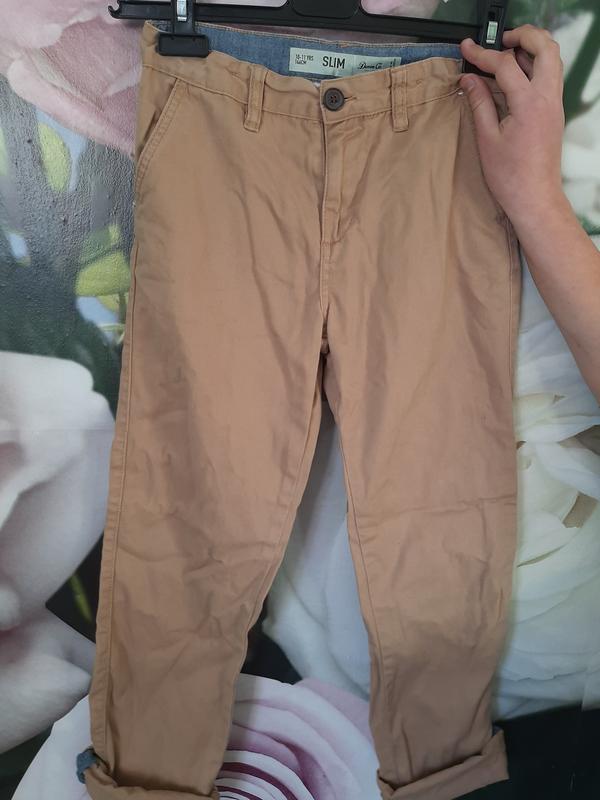 Летние тонкие джинсы брюки мальчику джоггеры слим скинни котто...