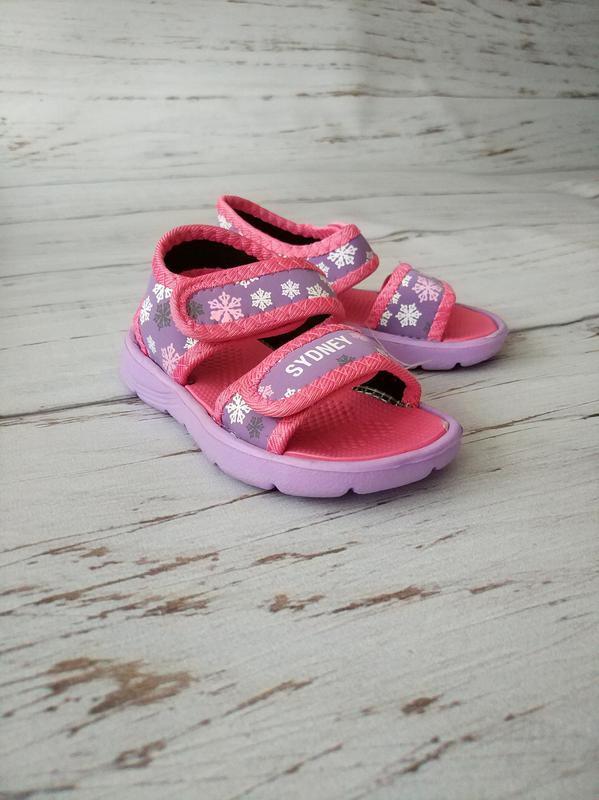 Детские аквашузы/летние босоножки для девочек sydney - Фото 4