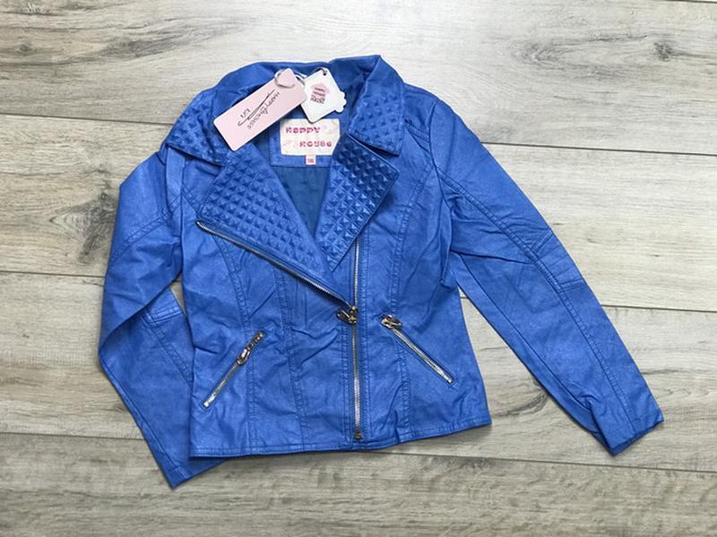 Акция!куртка косуха для девочек из экокожи, 98-128, польша