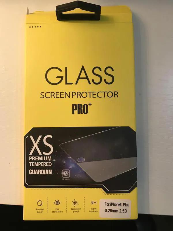 Защитное стекло на iPhone 6 Plus/ 6s Plus