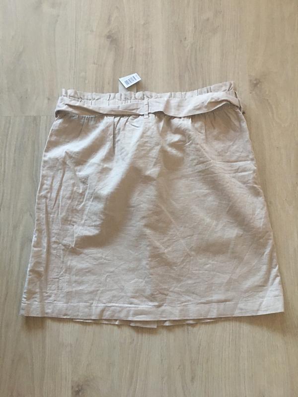 Льняная юбка - Фото 2