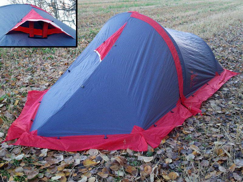 Палатка двухместная Tramp Bike 2 v2 (TRT-020) - Фото 3