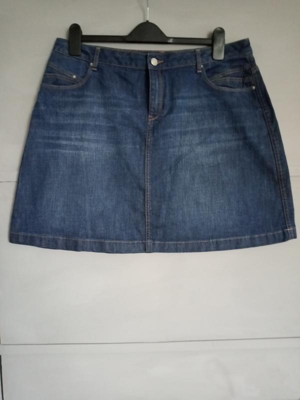 Актуальная юбка. джинсовая юбка. миди . мини. юбка трапеция