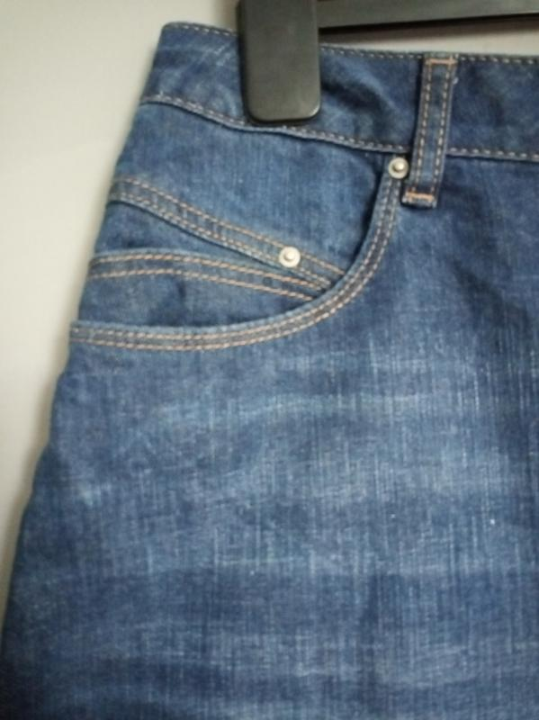 Актуальная юбка. джинсовая юбка. миди . мини. юбка трапеция - Фото 2