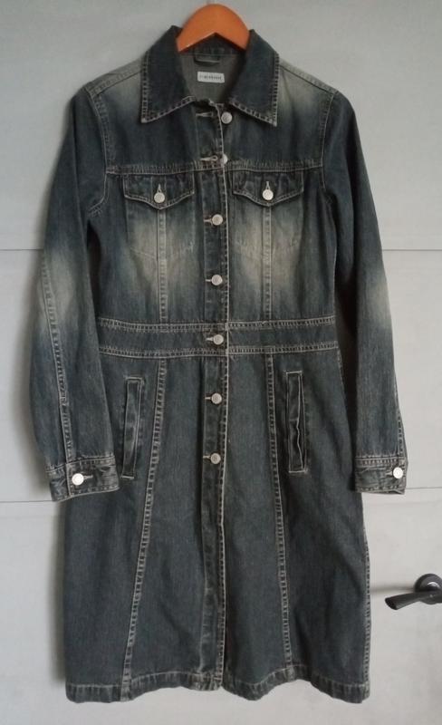 Джинсовый плащ. джинсовка . джинсовые платье .
