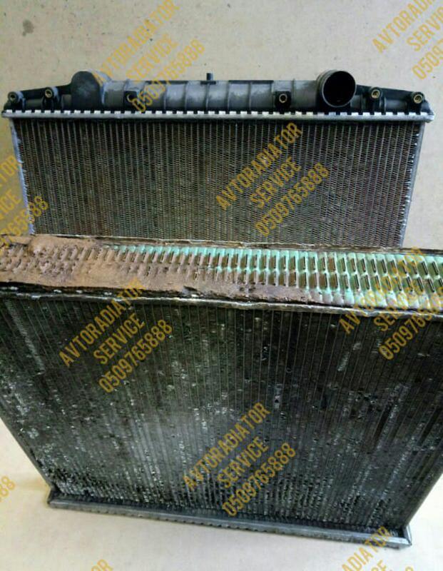 Ремонт радиатора, чистка, замена сердцевины, перепаковка бачка - Фото 2