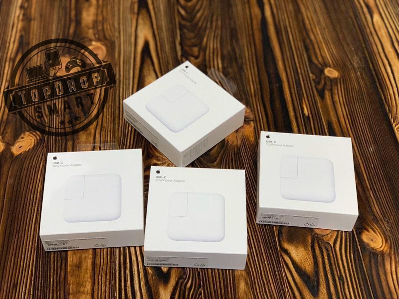 Зарядное устройство Apple Power Adapter 30W - Фото 4