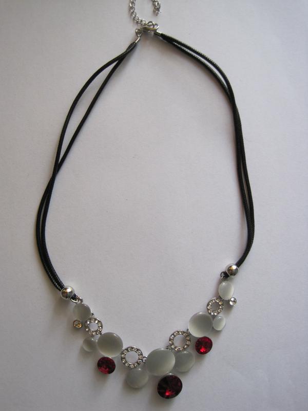 4-45 ожерелье opal бижутерия - Фото 2